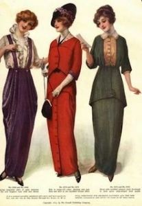 Divattörténet- 1910-es évek